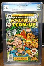 Dragonmiser Super-Villain Team-Up #6 30 Cent Price Variant 9.6 2nd Highest Grade