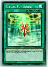 Ritual Foregone - Super Rare YUGIOH Card Mint / Near Mint Condition