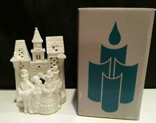 Partylite Village Carolers Candle Holder Votive TeaLight Christmas~ Mint In Box!