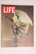 Life 1964 MacArthur Mustang Pieta Tennis Novak Salem Devoe Yuban GMC Car Ad M02