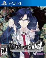 Chaos Child (Chaos;child) PlayStation 4, PS4 - Brand New