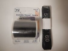 SIMPLICITY EZ-Quilting Invisible Thread, 500-Yard smoke .004 Nylon + FREE GIFT
