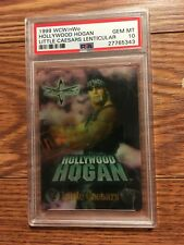 1999 WCW nWo Hulk Hogan Little Caesars Lenticular Wrestling Card PSA 10 WWE WWF