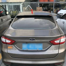 For FORD Mondeo 4th Sedan Matte Black Rear Roof Spoiler Wing 2014-2018 ABS