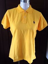 Ralph Lauren Skinny Fit Mesh Yellow Large