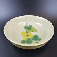 "Vintage Franciscan Earthenware Pebble Beach Large Serving Bowl 9.25"" Green"