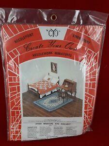 Create Your Own, Needlework Miniature Dollhouse, Persian RUG
