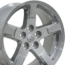 "20"" Wheels For Dodge Ram 1500 Dakota Durango Laramie 20x9 Inch Polished Rims Set"