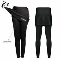Cycling Long Pants MTB Bike Bicycle Tights Skort Ladies Women Riding Breathable