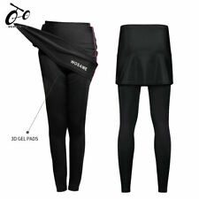Cycling Long Pants MTB Bike Bicycle Tights Skort Ladies Women Riding Breathable