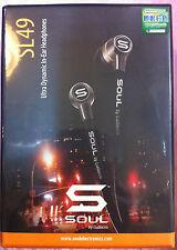 Soul by Ludacris SL49 In-Ear Earphone Headset (Black) For Apple iPod iPhone New