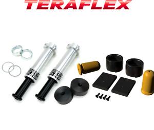 "Teraflex Jeep Wrangler JK 3""-3.5"" FRONT & REAR SPEEDBUMP BUMP STOP KIT 1958250"
