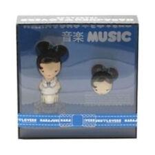 * MUSIC * HARAJUKU 1.0 oz Women edt 0.04 oz Solid Perfume 2 Pcs Gift Set NIB!