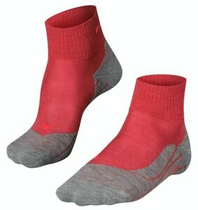 Falke Womens Trekking 5 Short Socks - Ruby Red