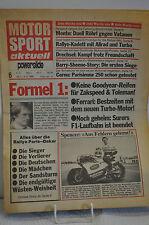 MOTOR SPORT aktuell  powerslide Nr. 6 -  1985