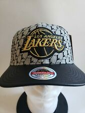 🔥🔥 LA LOS ANGELES LAKERS NBA MITCHELLHat MEN'S STRAPBACK New SHIPS TODAY!🏀🏀
