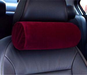 "MF Microfiber Velvet Memory Foam Car Seat Cushion 4.5""x11"" (12cm x28cm) 64 Color"