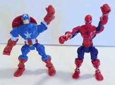 New ListingMarvel Super Hero Mashers Spider-man + Captain America Action Figures