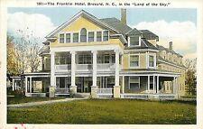 North Carolina, NC, Brevard, Franklin Hotel, Land of the Sky 1920's Postcard