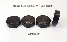Ebony Audio feet base MD-01 Mpingo Disk block insulator isolator clubWOOD