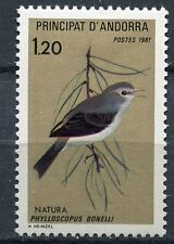 TIMBRE ANDORRE FRANCE NEUF  N° 294  **   OISEAUX PHYLLOSCOPUS BONELLI