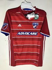 Adidas Youth MLS Jersey FC Dallas Team Red sz L