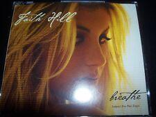 Faith Hill Breathe Australian CD Single – Like New