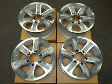 "Set of 4X New OEM 2000-2001 Isuzu Rodeo 16"" Machined Silver Factory Wheel Rims"