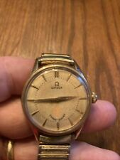 Vintage 1960 Omega Watch Inscribed Expert Driver Running Nicely -wind Up