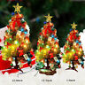 Mini Table Top Christmas Tree Decoration LED Decor Home Xmas Gift Party Ornament