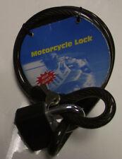 2 x Ultra Forte Intrecciato Cavo di sicurezza / padlock-15mmx1500-garage-gate-motorcycle