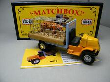 Matchbox MoY Code 2 YEX-42 Mack Zirkus mit Tiger Komplettumbau blaue Box 1 von 9
