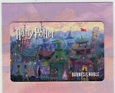 HARRY POTTER - Gift Card / BARNES & NOBLE / Collectible - No Value