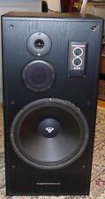 """Cerwin Vega E-715 Floorstanding Speaker 15"""" Woofer 5-Inch, 3-Way 400W Black Wood"""