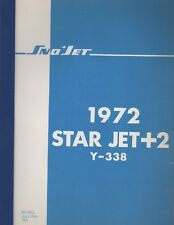 1972 SNO-JET SNOWMOBILE STAR JET+2 Y-338 PARTS MANUAL (681)
