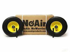(2) John Deere plana libre de rueda asambleas 13x5.00-6 Amarillo sustituye TCA13769