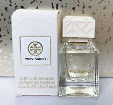 Tory Burch Just Like Heaven Eau De Parfum Mini Bottle - 0.24 oz/ 7 mL NIB!