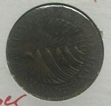 1833 Honduras 2 Reales - Scarce Copper