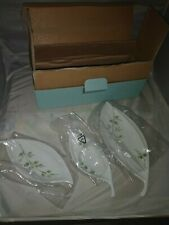Partylite, Herbal Spring Nested, Set 3 piece, green,candles, sushi, P8473, new!