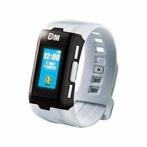 BANDAI Vital Bracelet Digital Monster ver. WHITE Digimon Wearable Device NEW
