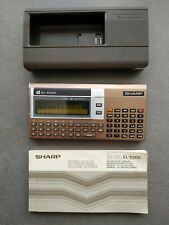 SHARP EL-6200 - ELECTRONIC DIARY Rare Vintage