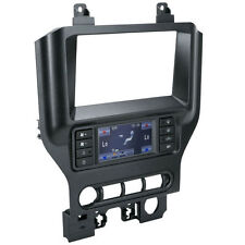 Scosche FD6210B Single/Double DIN Dash Install Kit for 2015-Up Ford Mustang