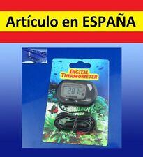 TERMOMETRO DIGITAL acuario temperatura agua peces tanqueThermometer ºC y F LCD