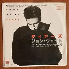 "John Waite - Tears / Dreamtime/Shake It Up Japan 7"" Vinyl Japan EYS-17509 PROMO"