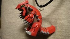 Groudon Pokemon Figure Charm Necklace Collectible Anime Cool Jewelry