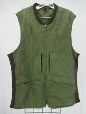 I8772 VTG Barbour Men's Outdoor Keeperwear Quilted Waistcoat