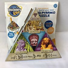 NEW! DISCOVERY KIDS 3D Puzzle Egyptian Pyramind 80 Cork PIECES