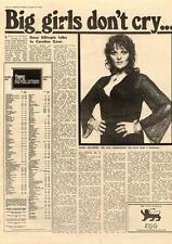 Dana Gillespie Big Girls Don't Cry MM4 Interview 1974