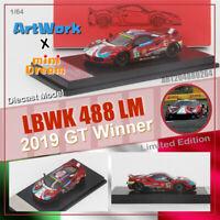 ArtWork Mini Dream 1:64 Ferrari 488 LBWK LM #51 70th anniversary 2019 GT Winner