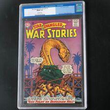 STAR SPANGLED WAR STORIES #119 (1965) 💥 CGC 7.0 💥 Rare! SciFi DC Comics